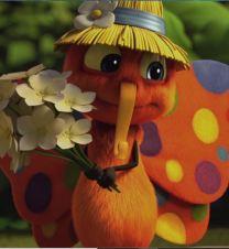 Drôles de petites bêtes le papillon