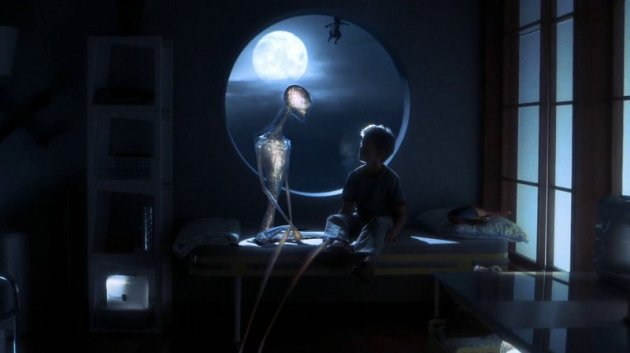 A.I. David et l'Alien
