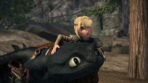 Dragons Krokmou et Astrid