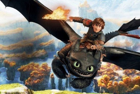 Dragons Krokmou et Harold