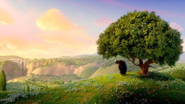 Ferdinand sous son arbre paysage
