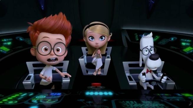 Sherman, Penny et Peabody