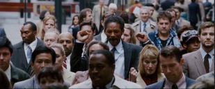 Chris au milieu de la foule