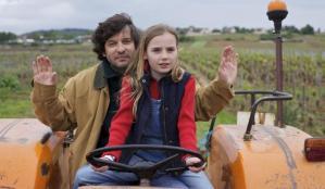 Juliette petite et son père