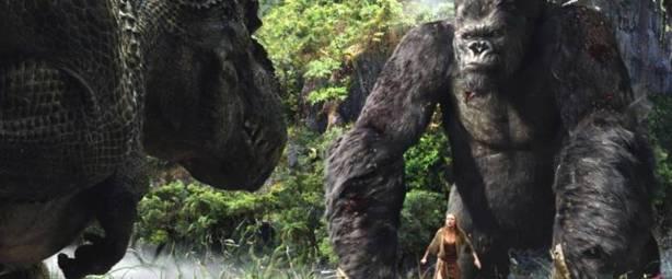King-Kong Ann et dinosaure