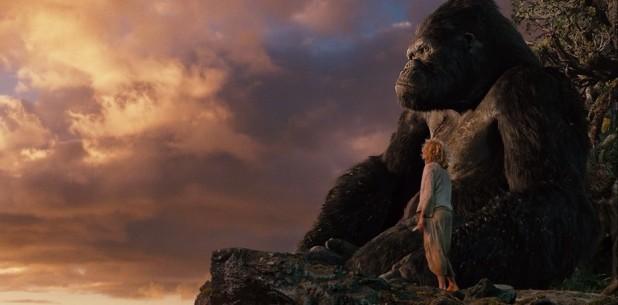 King-Kong et Ann regardent le paysage