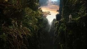 King-Kong l'équipe en pleine jungle