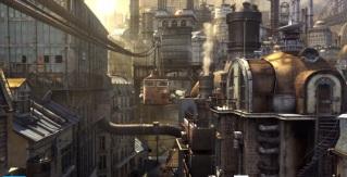 Paysage urbain de Mr Hublot