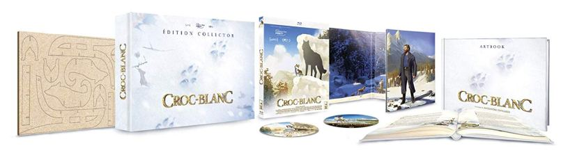 Coffret édition collector Croc-Blanc