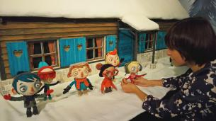 Marionnettes de Ma vie de Courgette