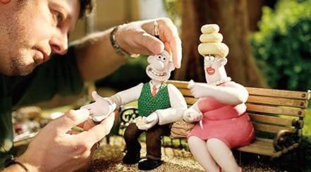 Marionnettes Wallace et Gromit