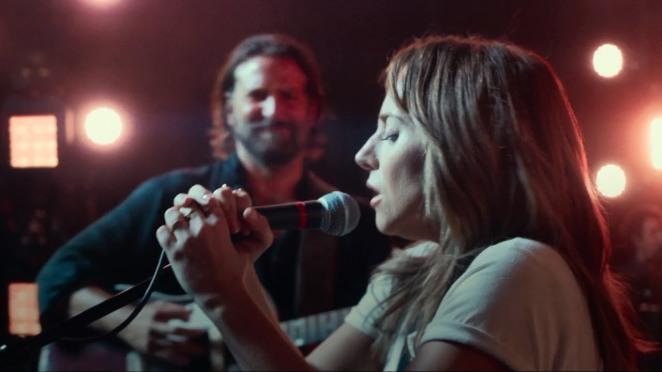 A star is born Bradley Cooper et Lady Gaga sur scène