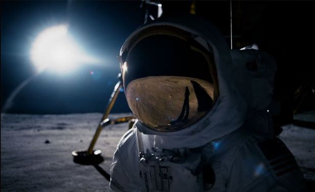 Neil Armstrong sur la lune film First Man 2018
