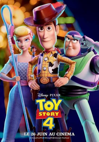 Affiche française Toy Story 4