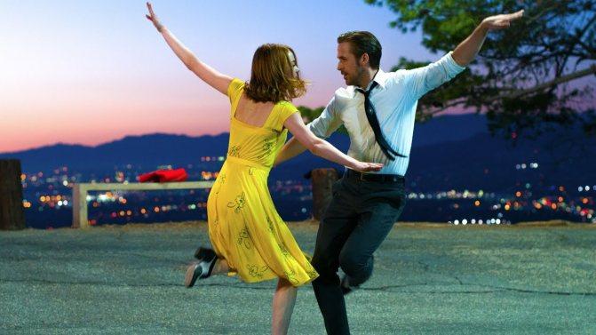 Mia et Sebastian dansent La La Land