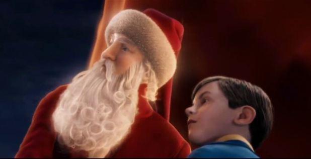 Le Pôle Express le jeune garçon et le père Noël