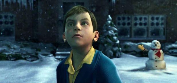Le jeune garçon du Pôle Express