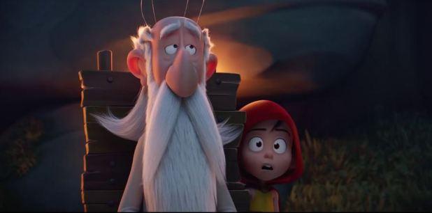 Astérix le secret de la potion magique Panoramix et un enfant