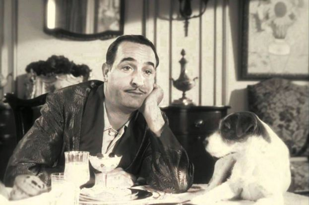 George et Uggie The Artist