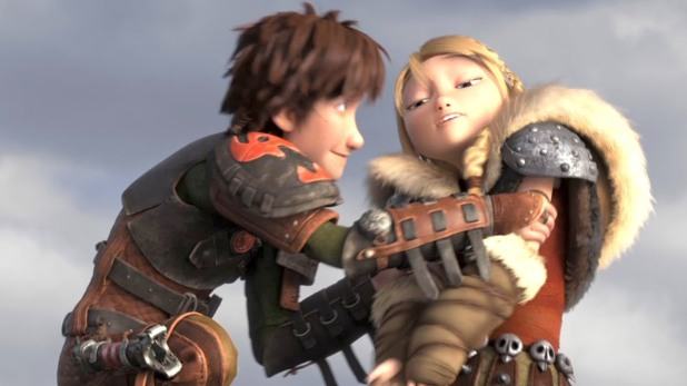 Harold et Astrid Dragons 2
