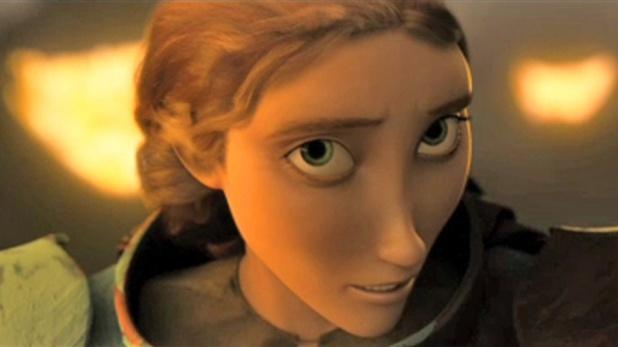 La mère d'Harold Dragons 2