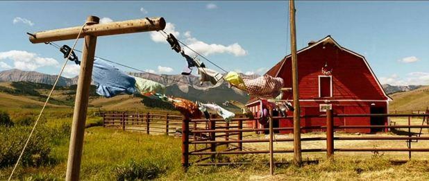Maison des Spivet dans le Montana