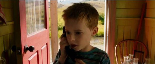 T.S Spivet au téléphone