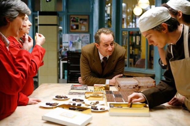 Benoit Poelvoorde à la chocolaterie Les émotifs anonymes