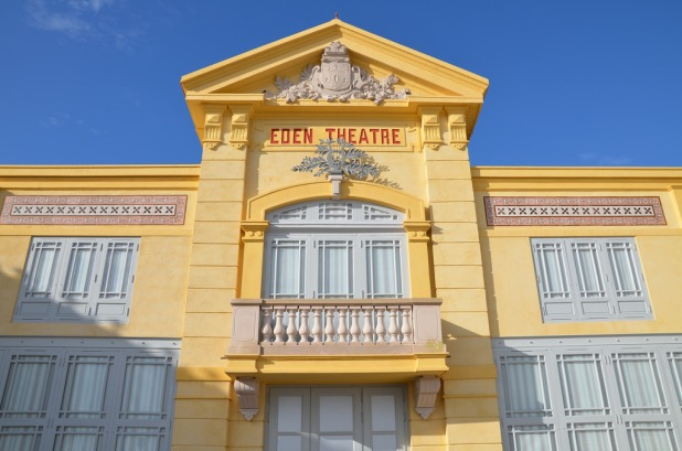 Façade Eden Théâtre de la Ciotat