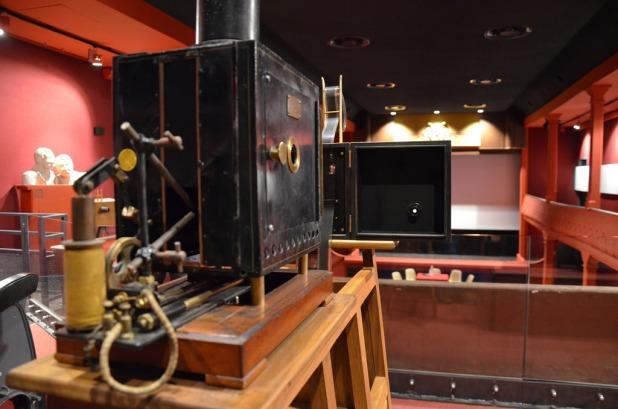 Intérieur du cinéma Eden Théâtre