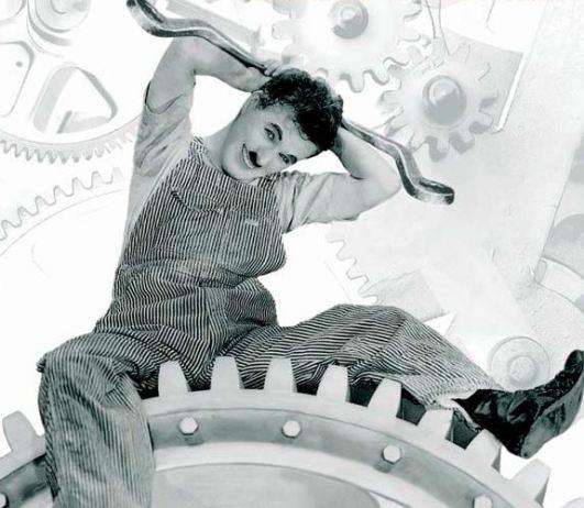 Les temps modernes Charlie Chaplin
