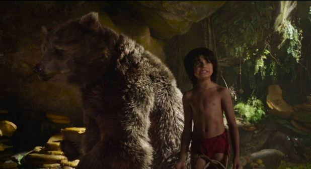 Baloo et Mowgli Le livre de la jungle live 2016