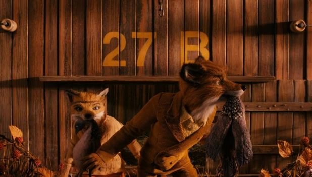 Capture d'écran scène du film Fantastic Mr Fox.