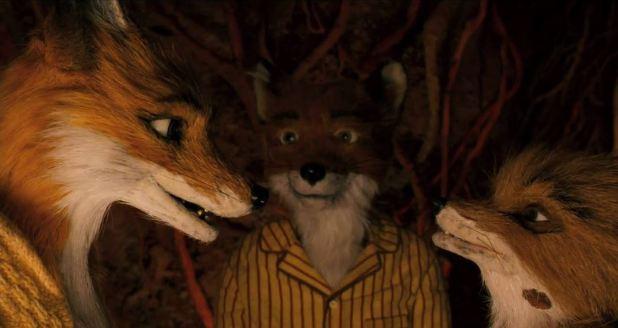 La famille Fantastic Mr Fox