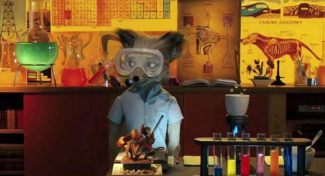 Le fils dans Fantastic Mr Fox
