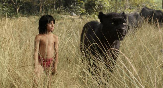 Mowgli et Bagheera Le livre de la jungle 2016