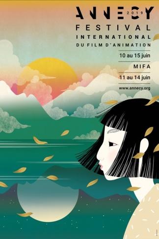 Affiche Festival du film d'Animation Annecy 2019