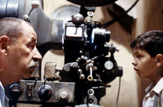 Alfredo et Toto Cinema Paradiso