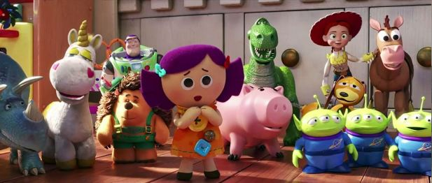Toy Story 4 photo de groupe