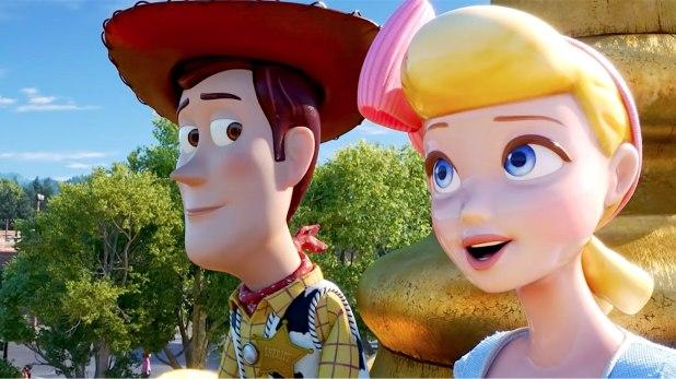Toy Story 4 Woody et la Bergère