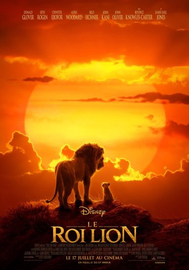 Affiche Le Roi Lion live Disney 2019