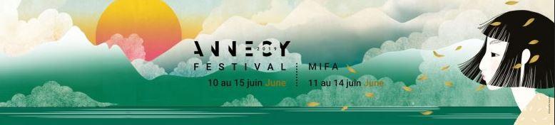 Bandeau Festival du film d'Animation Annecy 2019