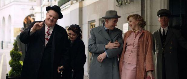 Stan & Ollie et leurs épouses