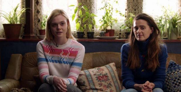 Teen Spirit Violet et sa mère
