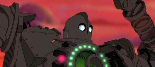 Extrait du film Le géant de fer de Brad Bird