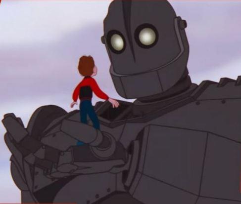 Le géant de fer et Hogarth