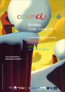 Affiche Cinémanimé région sud