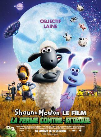 Affiche Shaun le mouton le film La ferme contre attaque