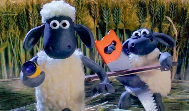 Scène Shaun le Mouton 2 sortie 2019