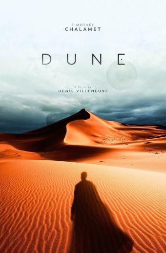 Affiche Dune sortie le 23 décembre 2020